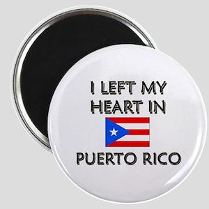 I Left My Heart In Puerto Rico Magnet