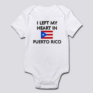 I Left My Heart In Puerto Rico Infant Bodysuit