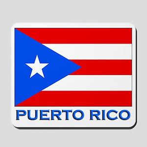Puerto Rico Flag Gear Mousepad