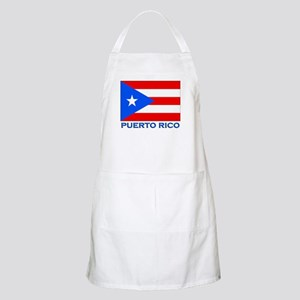 Puerto Rico Flag Gear BBQ Apron