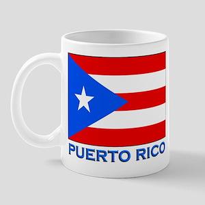 Puerto Rico Flag Gear Mug
