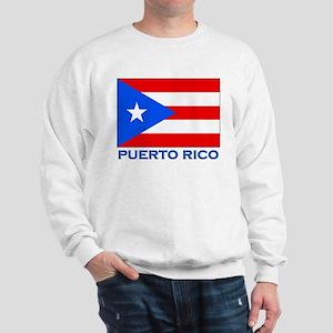 Puerto Rico Flag Gear Sweatshirt