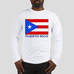 Puerto Rico Flag Gear Long Sleeve T-Shirt