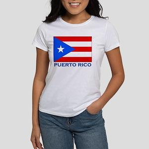 Puerto Rico Flag Gear Women's T-Shirt