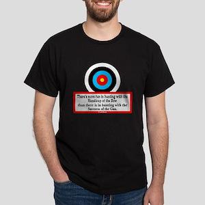 Handicap Of The Bow-Fred Bear/t-shirt Dark T-Shirt