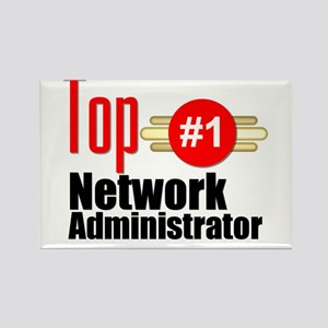 Top Network Administrator Rectangle Magnet