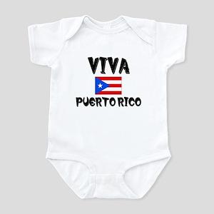Viva Puerto Rico Infant Bodysuit
