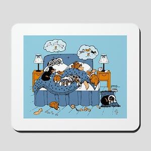 collie CRAZY Mousepad