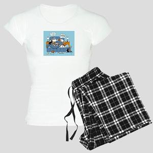 collie CRAZY Women's Light Pajamas
