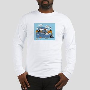 collie CRAZY Long Sleeve T-Shirt