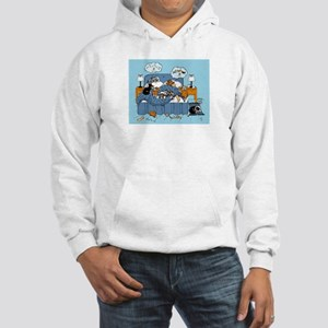 collie CRAZY Hooded Sweatshirt