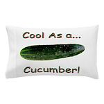 Cool Cucumber Pillow Case