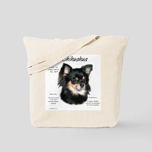 Chihuahua (longhair) Tote Bag
