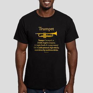 Trumpet MD Men's Fitted T-Shirt (dark)