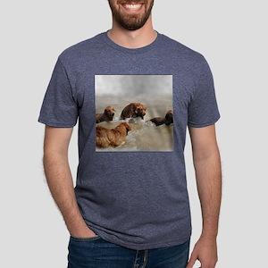 at play calendar Mens Tri-blend T-Shirt