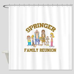 SPRINGER FAMILY REUNION Shower Curtain