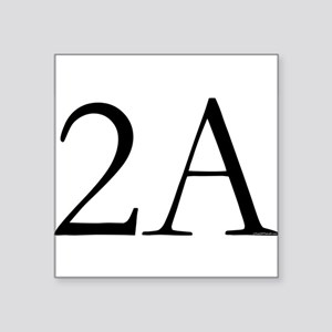 2A Rectangle Sticker