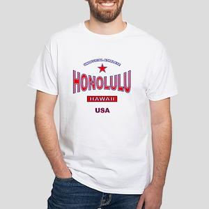 Honolulu White T-Shirt