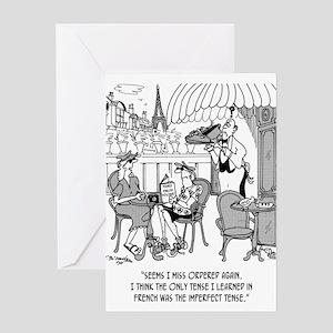 French Cartoon 4932 Greeting Card
