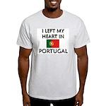 Flag of Portugal Ash Grey T-Shirt