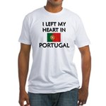 Flag of Portugal Fitted T-Shirt