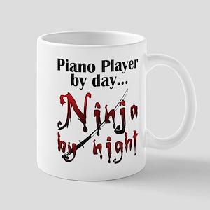 Piano Player Ninja Mug