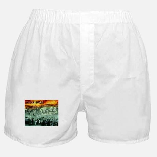 AMERICA'S FUTURE Boxer Shorts