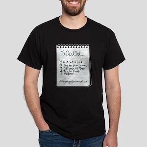 "The ""To Do"" List Dark T-Shirt"