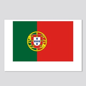 Portugal Flag Picture Postcards (Package of 8)