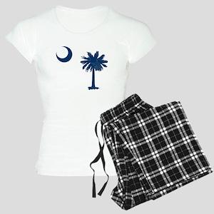 Palmetto & Cresent Moon Women's Light Pajamas
