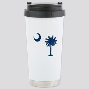 Palmetto & Cresent Moon Stainless Steel Travel Mug