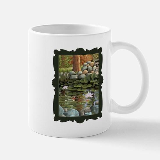 Fish among the Lilies Mug