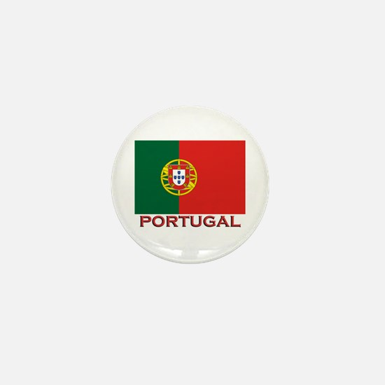 Portugal Flag Stuff Mini Button