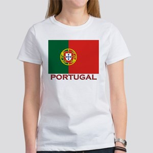 Portugal Flag Stuff Women's T-Shirt
