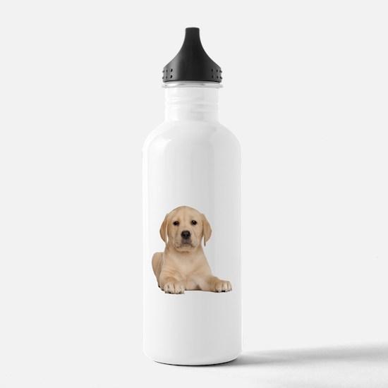 Golden Lab Water Bottle
