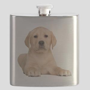 Golden Lab Flask