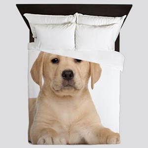 Golden Lab Queen Duvet