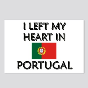 I Left My Heart In Portugal Postcards (Package of