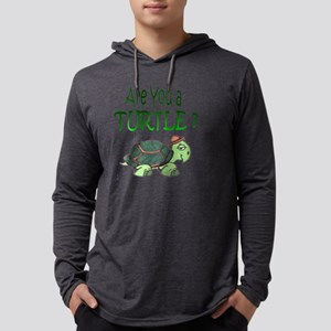 are you a turtle1 Mens Hooded Shirt