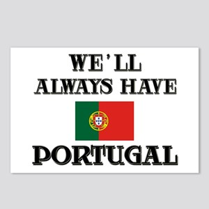We Will Always Have Portugal Postcards (Package of