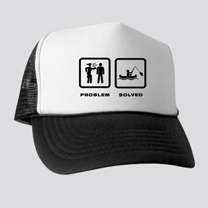 Canoe Fishing Trucker Hat