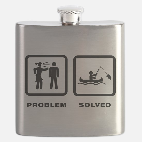 Canoe Fishing Flask