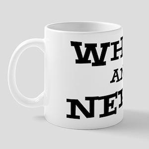 White And Nerdy Mug