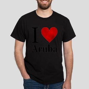ilovearuba.png Dark T-Shirt