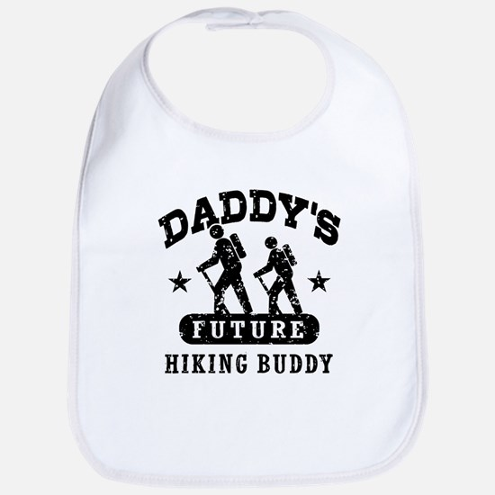 Daddy's Future Hiking Buddy Bib