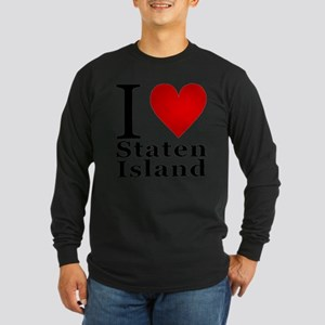 ilovestatenisland Long Sleeve Dark T-Shirt