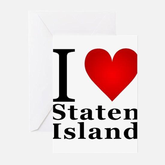 ilovestatenisland.png Greeting Cards (Pk of 10)