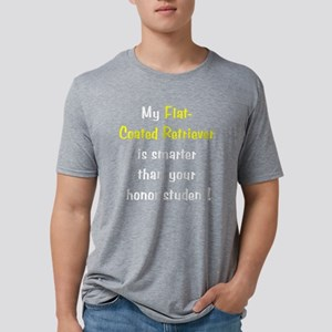 flatcoatedsmarter10-t Mens Tri-blend T-Shirt
