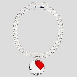 I Love Tucson Charm Bracelet, One Charm