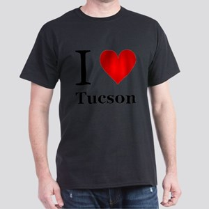 I Love Tucson Dark T-Shirt